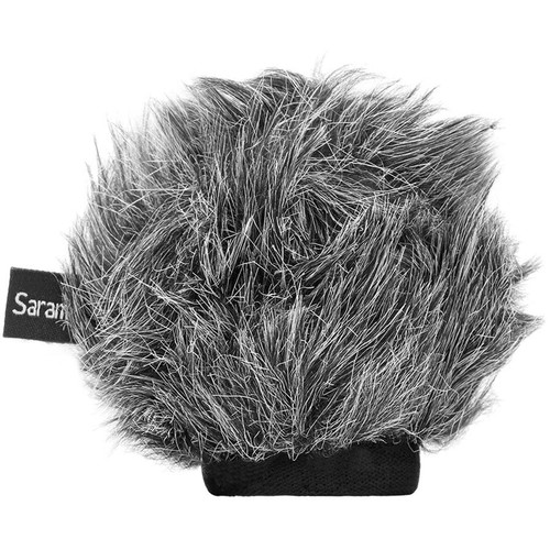 Saramonic VMIC-WS-S Furry Windscreen for Vmic Stereo and Vmic Stereo mkII Microphones