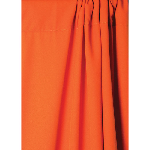 Savage Wrinkle-Resistant Polyester Background (Tangerine, 5x9')