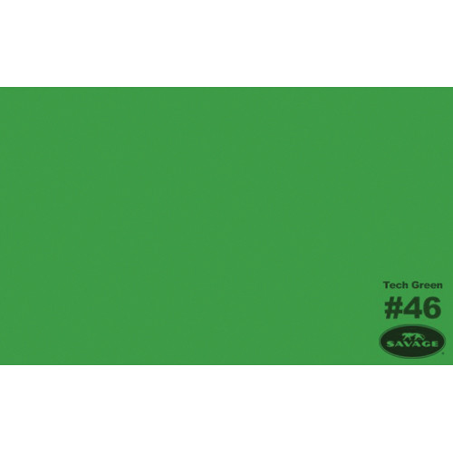 "Savage Widetone Seamless Background Paper (#46 Tech Green, 86"" x 36')"