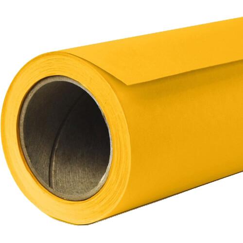 "Savage Widetone Seamless Background Paper (#71 Deep Yellow, 53"" x 18')"