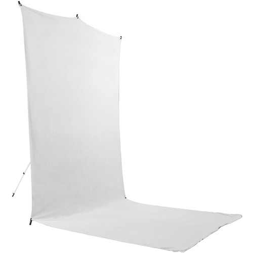 Savage BackdropExtendedTravel Kit (White, 5 x 12')