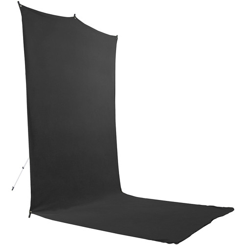 Savage BackdropExtendedTravel Kit (Black, 5 x 12')