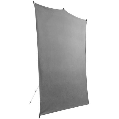 Savage BackdropTravel Kit (Gray, 5 x 7')