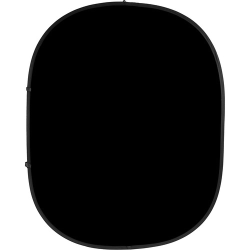 Savage Collapsible/Reversible Background (6 x 7', Black/White)