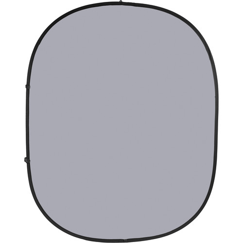 Savage Collapsible/Reversible Background (6 x 7', Dark/Light Gray)