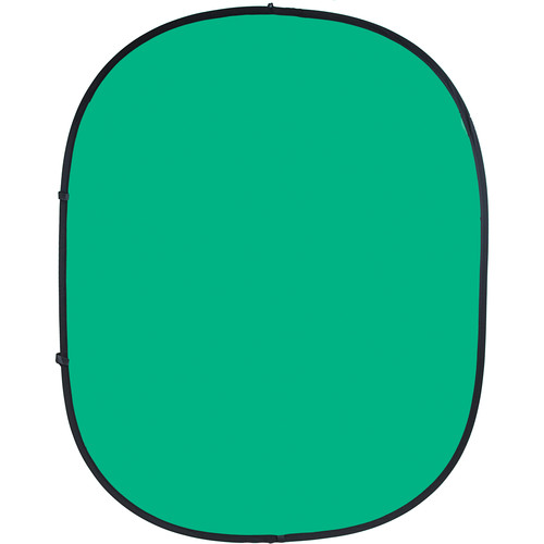 Savage Collapsible/Reversible Background (6 x 7', Chroma Green/Blue)