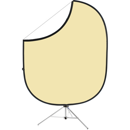 "Savage Collapsible Stand Kit (60 x 72"", Cream/White)"