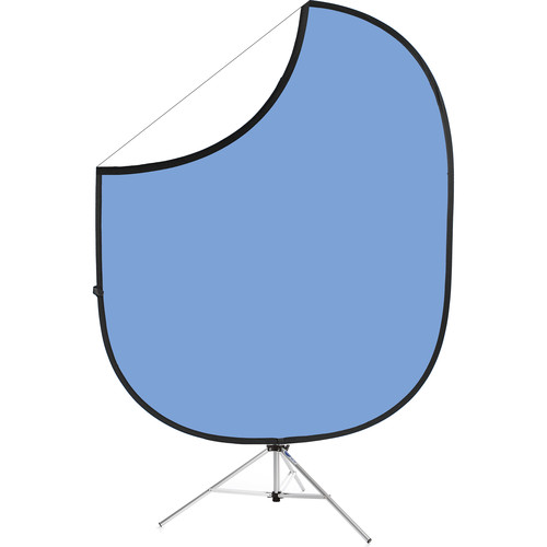 "Savage Collapsible Stand Kit (60 x 72"", Light Blue/White)"