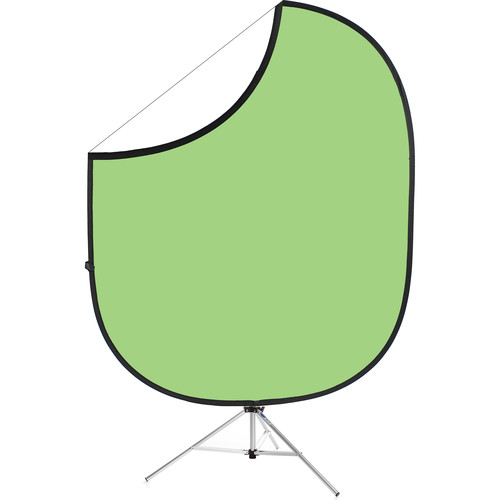 """Savage Collapsible Stand Kit (60 x 72"""", Light Green/White)"""