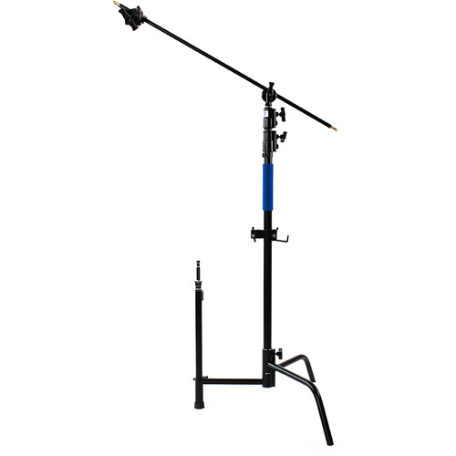 Savage C-Stand with Grip Arm and Turtle Base Kit (Chrome/Black 9.5')