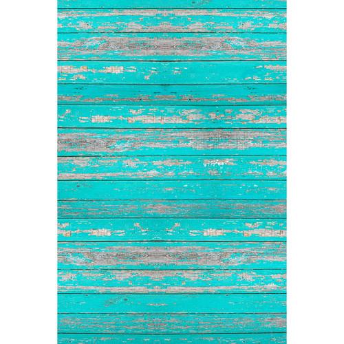 Savage 4x5' Floor Drop (Distressed Teal Wood)
