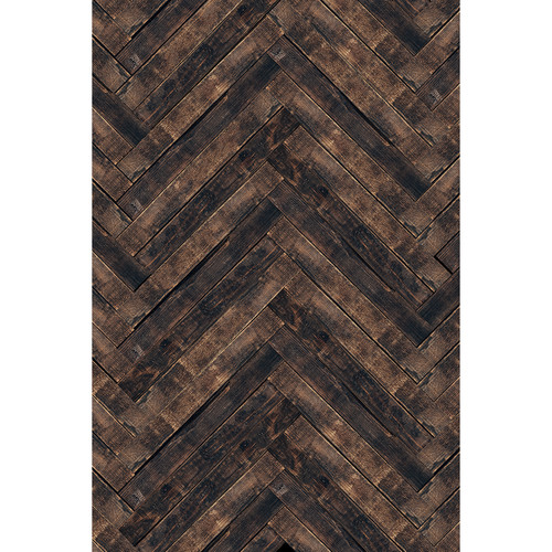 Savage Herringbone Wood 5'X7'