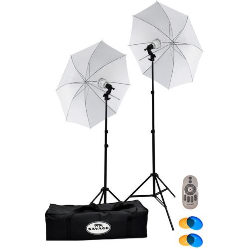Savage 700W LED Studio Light Kit