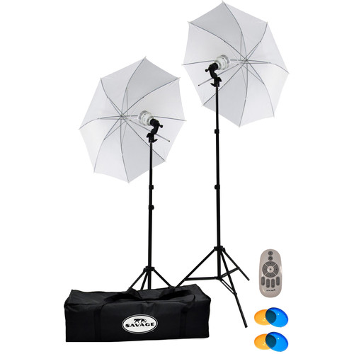 Savage 700 W LED Studio Light Kit