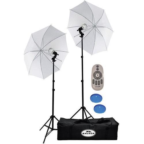 Savage 700W Bi-Color LED Studio Light Kit