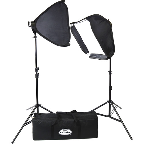 Savage LED Portrait Kit