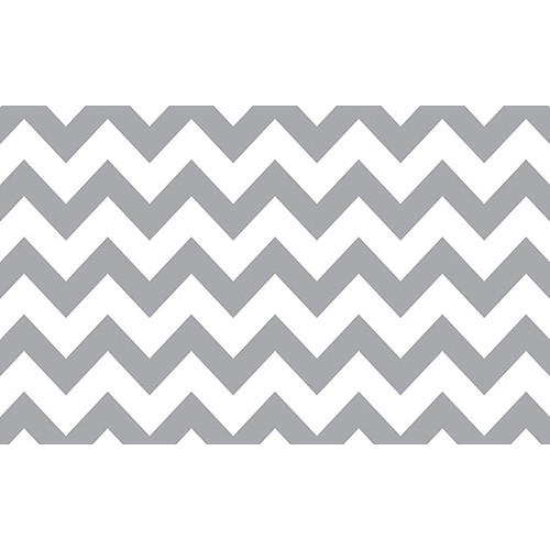 "Savage Printed Background Paper (53"" x 18', Gray & White Chevron)"