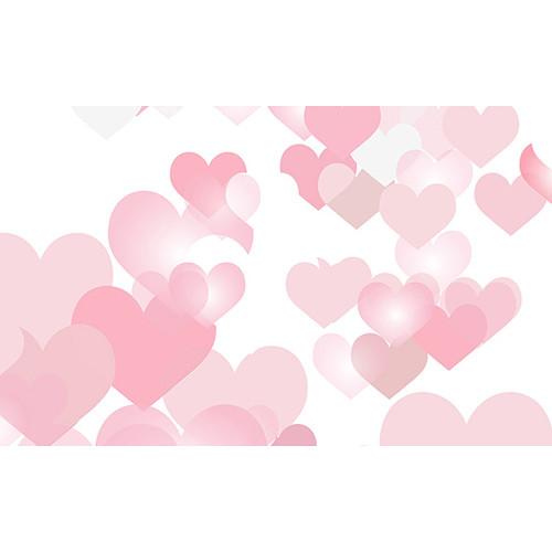 "Savage Printed Background Paper (53"" x 18', Love Burst)"