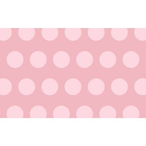"""Savage Printed Background Paper (53"""" x 18', Rosy Polka Dots)"""