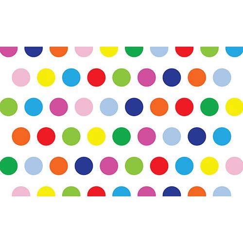 """Savage Printed Background Paper (53"""" x 18', Rainbow Sprinkle)"""