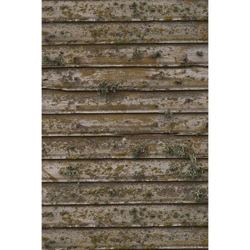 Savage Distressed Wood Wall Printed Vinyl Backdrop (5x7')
