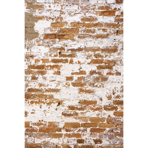 Savage Weathered Brick Wall Printed Vinyl Backdrop (5x7')
