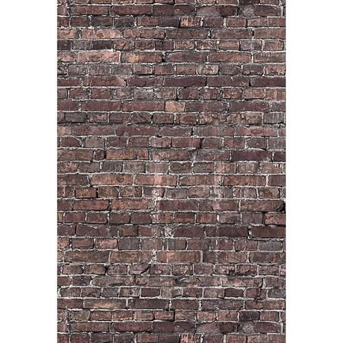 Savage Grunge Brick Printed Vinyl Backdrop (5x7')