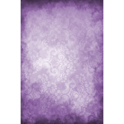 Savage Hazy Purple Floral Printed Vinyl Backdrop (5x7')