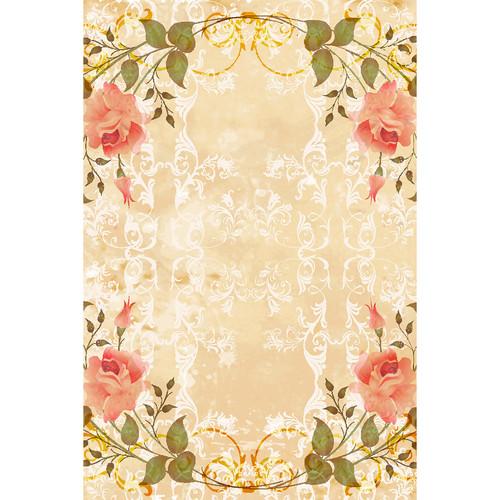 Savage Vintage Floral Garland Printed Vinyl Backdrop (5x7')