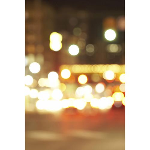Savage Blurred Street Lights Printed Vinyl Backdrop (5x7')