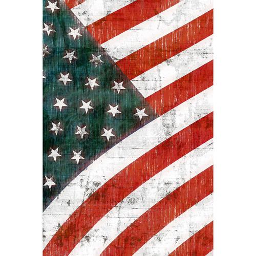 Savage American Flag Printed Vinyl Backdrop (5x7')