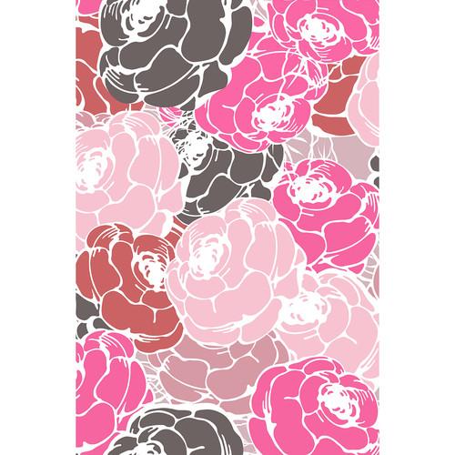 Savage Blooming Flowers Printed Vinyl Backdrop (5x7')