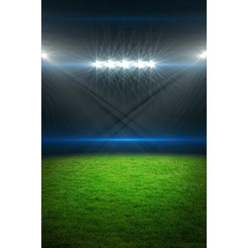 Stadium Of Lights: Savage Stadium Lights Printed Vinyl Backdrop (5x7') P