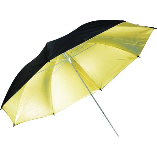 "Savage Black/Gold Umbrella (36"")"