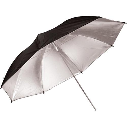"""Savage 36"""" Silver/Black Umbrella"""