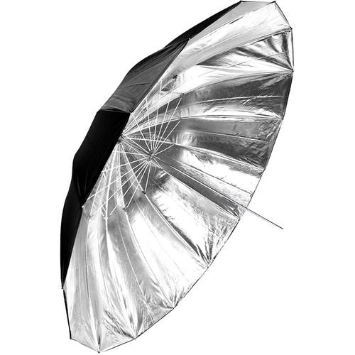 """Savage 72"""" Black/Silver Umbrella"""