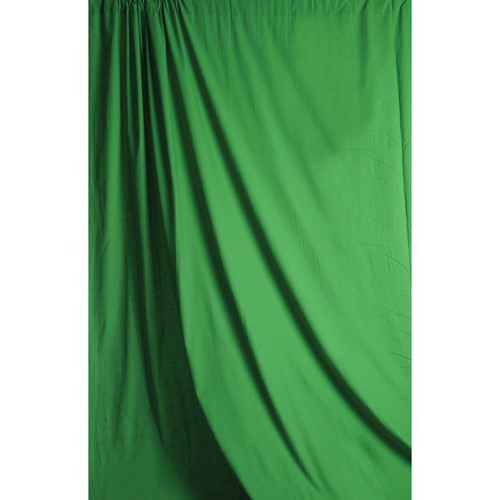 Savage 5 x 7' Chromakey Green Solid Colored Muslin Backdrop