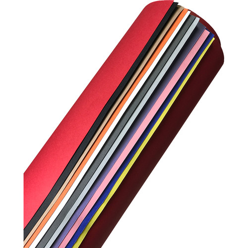 """Savage Tabletop Paper Background Sweeps (12-Pack, Multi-Color, 15.75 x 33"""")"""