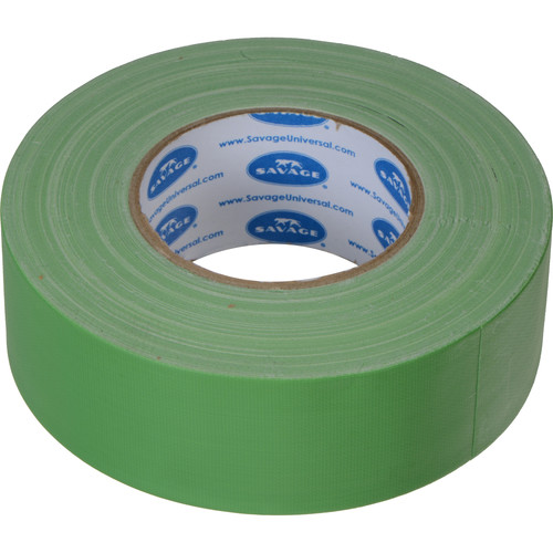 "Savage Gaffer Tape (Chroma Green, 2"" x 55 yd)"