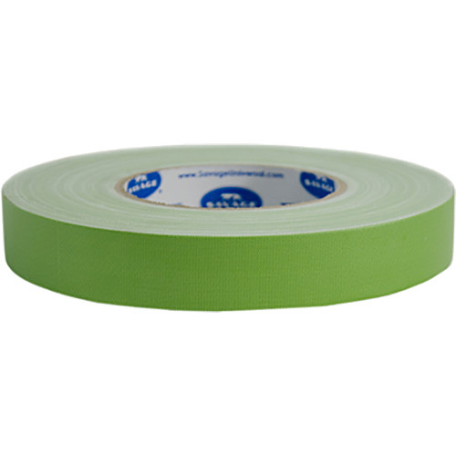 "Savage Chroma Green Gaffer Tape (1"" x 55 yd, 20-Pack)"