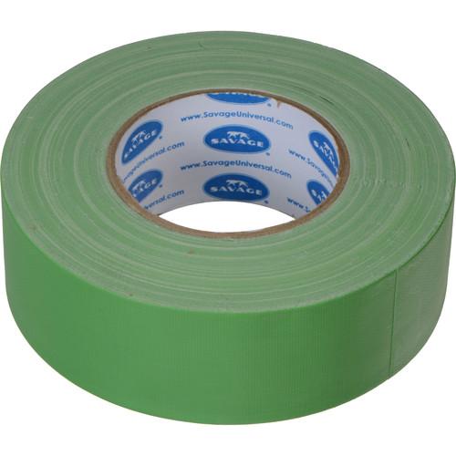"Savage Chroma Green Gaffer Tape (2"" x 55 yd, 20-Pack)"