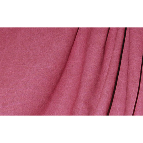 Savage Reversible Cranberry Washed Muslin Backdrop (10 x 24')