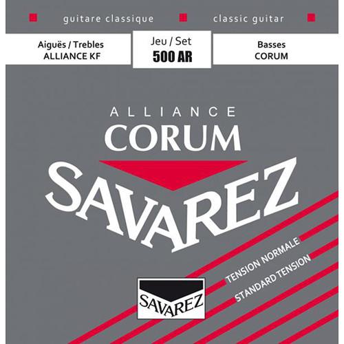 SAVAREZ 500AR Normal Tension Corum Alliance Classical Guitar Strings (6-String Set, 244 - 421)