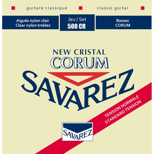 SAVAREZ 500CR Cristal Corum Normal Tension Classical Guitar Strings (6-String Set, 29 - 42)