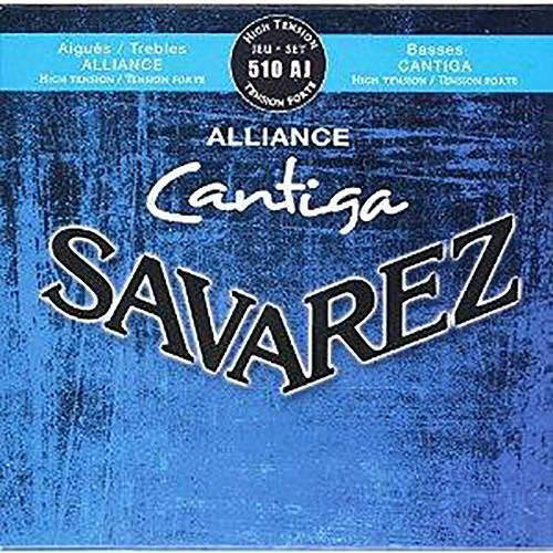 SAVAREZ 510AJ Alliance Cantiga High Tension Classical Guitar Strings (6-String Set, 25 - 44)