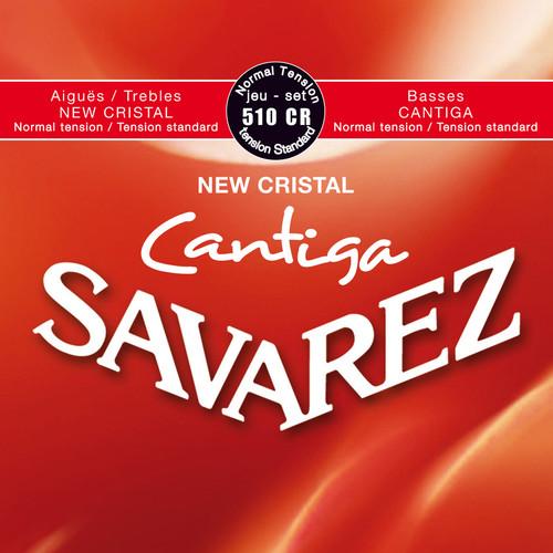 SAVAREZ 510CR Cantiga Normal Tension Classical Guitar Strings (6-String Set, 29 - 43)