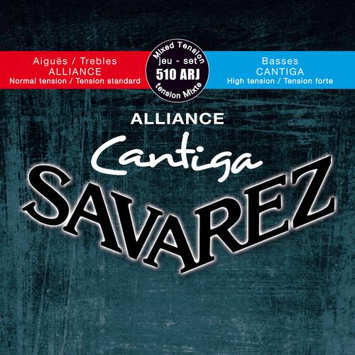 SAVAREZ 510ARJ Alliance Cantiga Mixed Tension Classical Guitar Strings (6-String Set, 24 - 44)