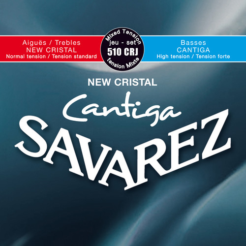 SAVAREZ 510CRJ Cantiga Mixed Tension Classical Guitar Strings (6-String Set, 29 - 44)