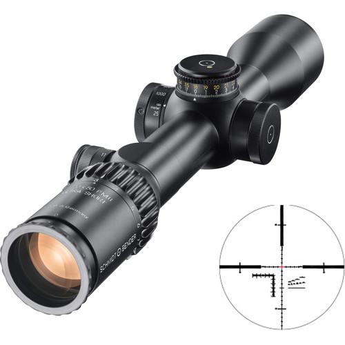 Schmidt & Bender 3-20x50 PM II Ultra-Short Riflescope (MSR Reticle, Black)
