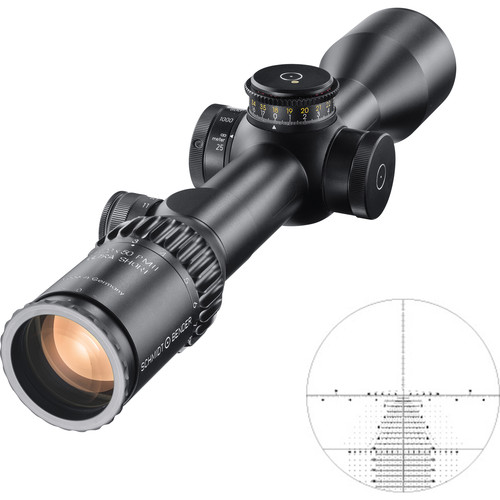 Schmidt & Bender 3-20x50 PM II Ultra-Short Riflescope (TreMoR3 Reticle, Black)